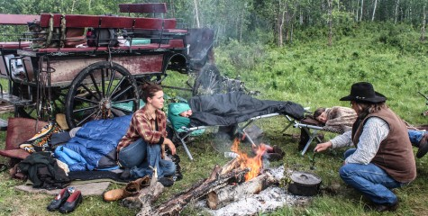 Camping with Sturgeon River Ranch