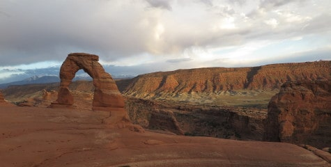 delicate arch awesome view